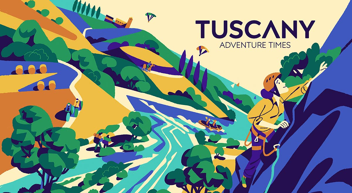 Tuscany adventure times